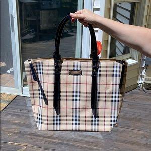 Handbags - Checkered fashion bag